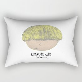 POPheads: LEAVE ME ALONE.. Rectangular Pillow