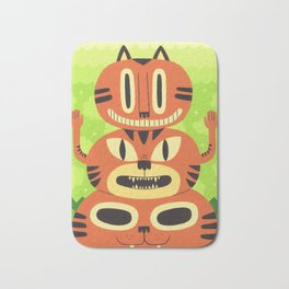Totem Cat Bath Mat
