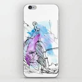Violin in two tones II iPhone Skin