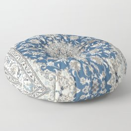 Antique Persian Rug Floor Pillow