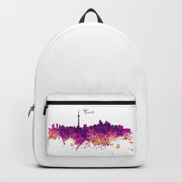 Toronto Watercolor Skyline Backpack