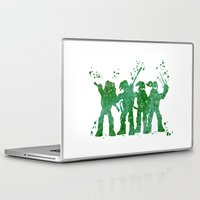teenage mutant ninja turtles Laptop & iPad Skins featuring Teenage Mutant Ninja Turtles by Carma Zoe