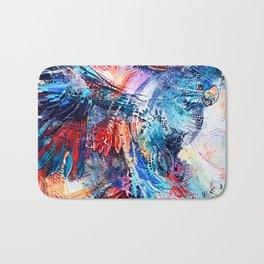 Cockatoo circlings Bath Mat