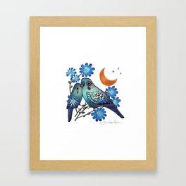 Sweet Chicory Framed Art Print