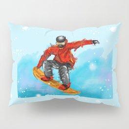 snowborder1 Pillow Sham