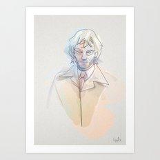 Oneline Hell blazer: J. Constantine Art Print
