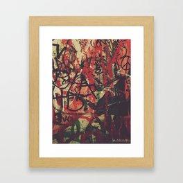 tanjuhringz Framed Art Print