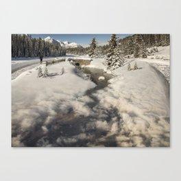 Fade Away Canvas Print