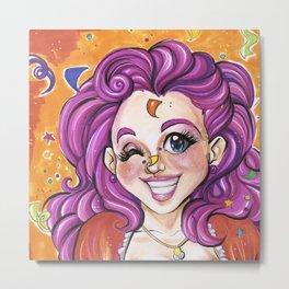 Pinkie Pie (My Little Pony Humanized) Metal Print