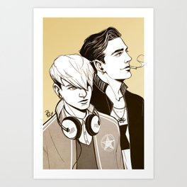 the poisoned youth Art Print