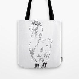 Llama needs a new pair of shoes... Tote Bag