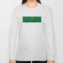 Agender (earth) Long Sleeve T-shirt