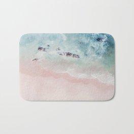 Ocean Pink Blush Bath Mat