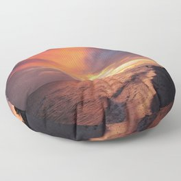 Sensational Sanibel Sunset Floor Pillow