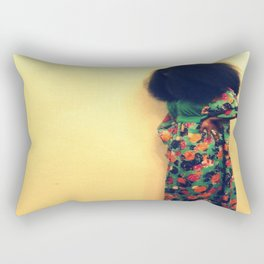 Afro : Vintage Style Rectangular Pillow