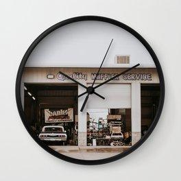 Repair Shop Wall Clock