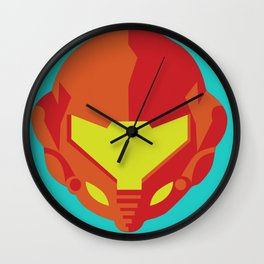 Samus - Metroid Wall Clock