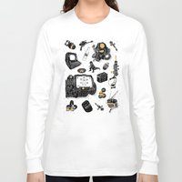 fallout Long Sleeve T-shirts featuring Artifacts: Fallout by Josh Ln