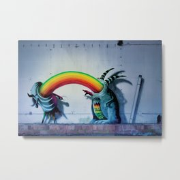 Where does the rainbow come from? Metal Print