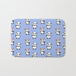 Brain is panda-monium Bath Mat