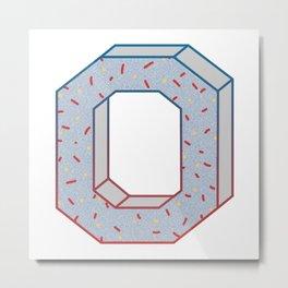 Celebrate The Zero Metal Print