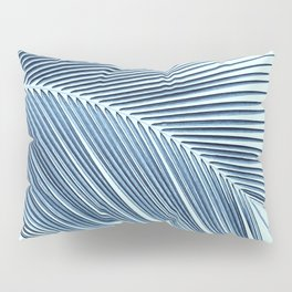 Palm leaf - oceanic Pillow Sham
