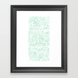 your farts  Framed Art Print