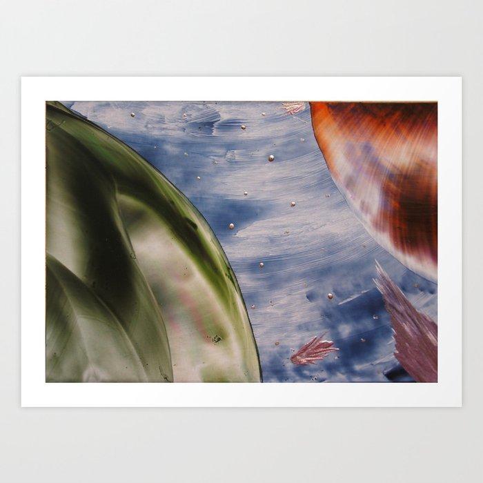 Planetary space Art Print