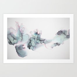 Abstract Alcohol Ink 6248 Art Print