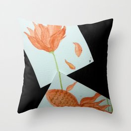 DEJA VU Throw Pillow
