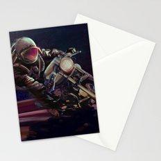 cosmic cafe racer Stationery Cards