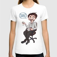 danisnotonfire T-shirts featuring Danisnotonfire - The internet support group  by BrimRun