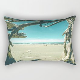 Drift Wood Castle Rectangular Pillow