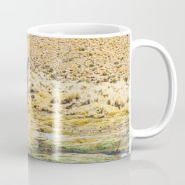 Wandering Llama in the Bolivian Desert Coffee Mug
