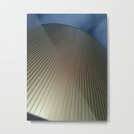 Up to the Blue Metal Print
