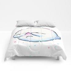 Boo Ghost Mario Watercolor Comforters