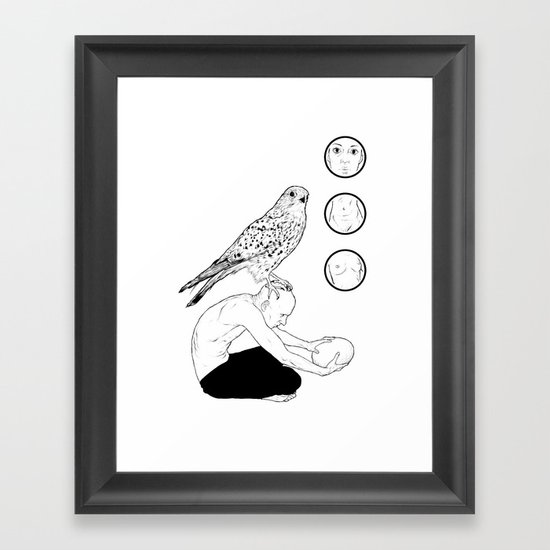 Cheat Her Framed Art Print