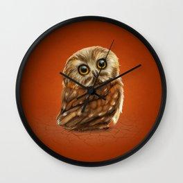 The Owls Eyes Wall Clock