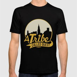 A Tribe Called Quest City Skyline Atcq Hip-Hop Rap Native Tongues Hip Hop T-Shirts T-shirt