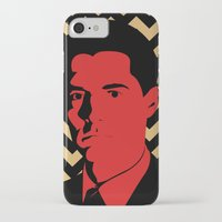 dale cooper iPhone & iPod Cases featuring Special Agent Dale Cooper by TwO Owls