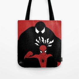 Spiderman (Amazing) vs Venom Tote Bag