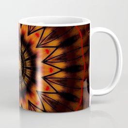 Marigold Red Mandala design Coffee Mug