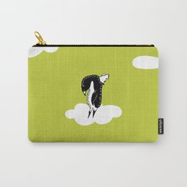 Flying Pengiun by McKenna Sanderson Carry-All Pouch