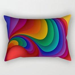fluid -37c- Rectangular Pillow