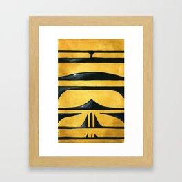 Allograpta Framed Art Print