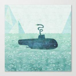 The Submarine Canvas Print