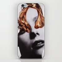 noir iPhone & iPod Skins featuring NOIR by Luca Mainini