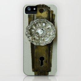 Glass Door Knob iPhone Case