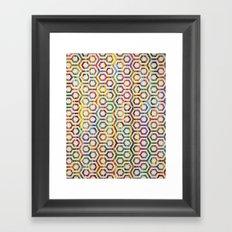 The Hex Framed Art Print