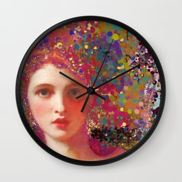 Psych-ed-Emma Wall Clock